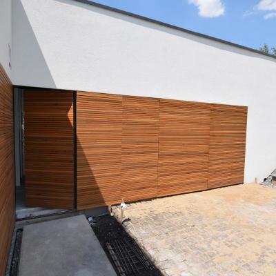 2 placari exterioare cu lemn