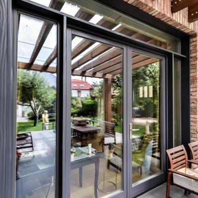 4 ferestre lemn aluminiu