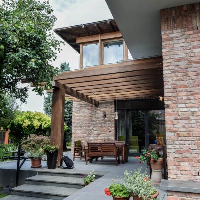 6 ferestre lemn aluminiu