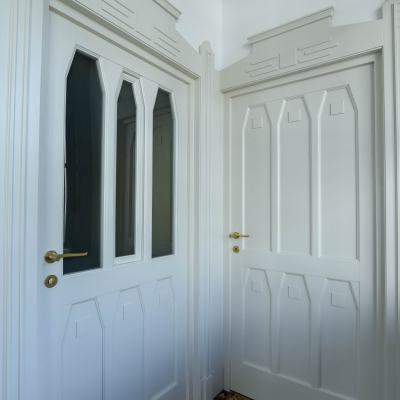 3 usi interior lemn
